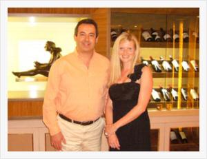 Charles Wigoder and Esther Callis